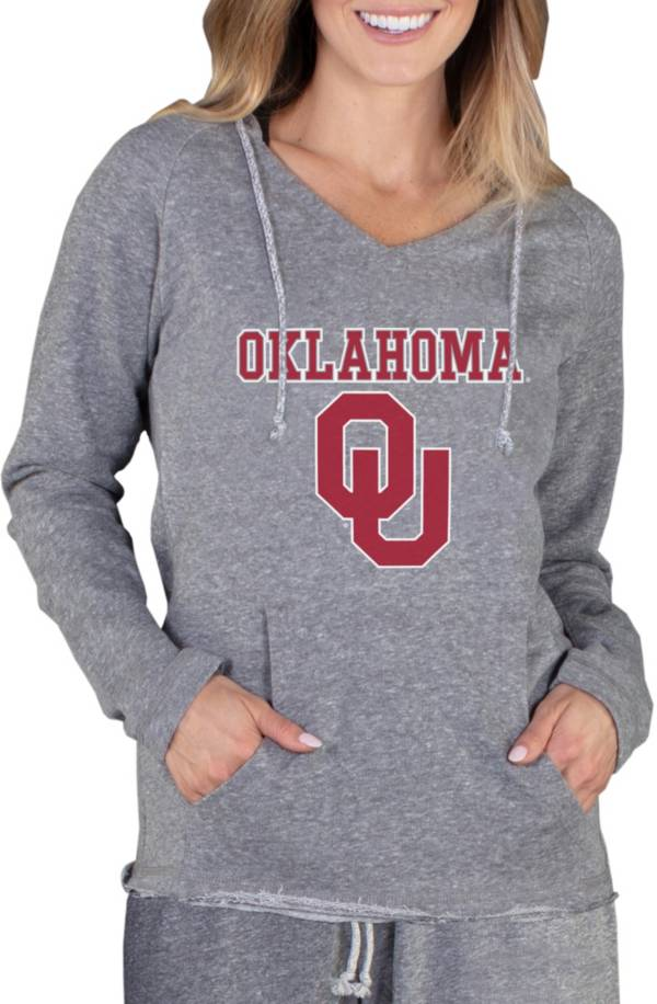 Concepts Sport Women's Oklahoma Sooners Grey Mainstream Hoodie product image