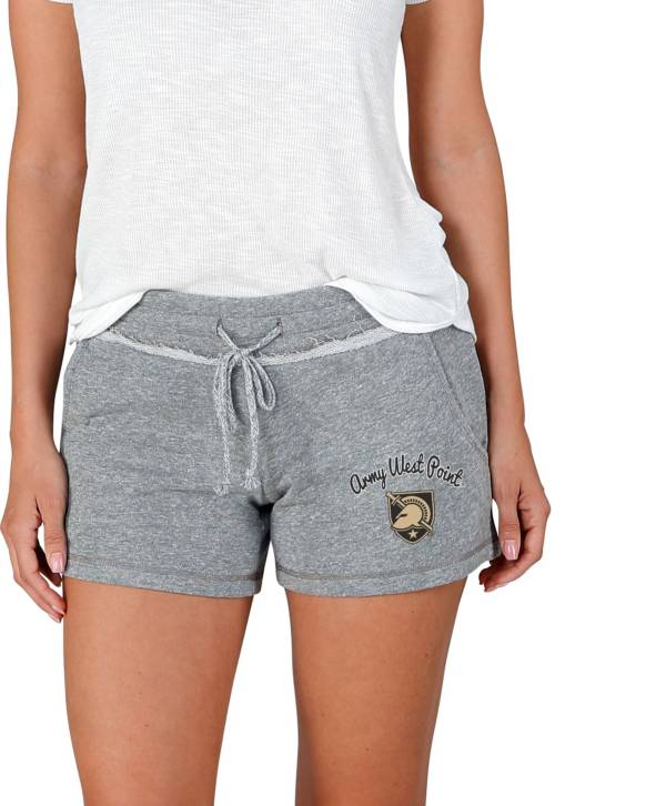 Concepts Sport Women's Army West Point Black Knights Grey Mainstream Terry Shorts product image