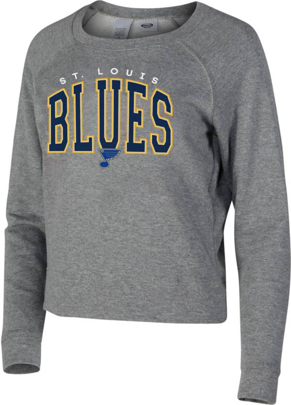 Concepts Sport Women's St. Louis Blues Mainstream Grey Sweatshirt product image