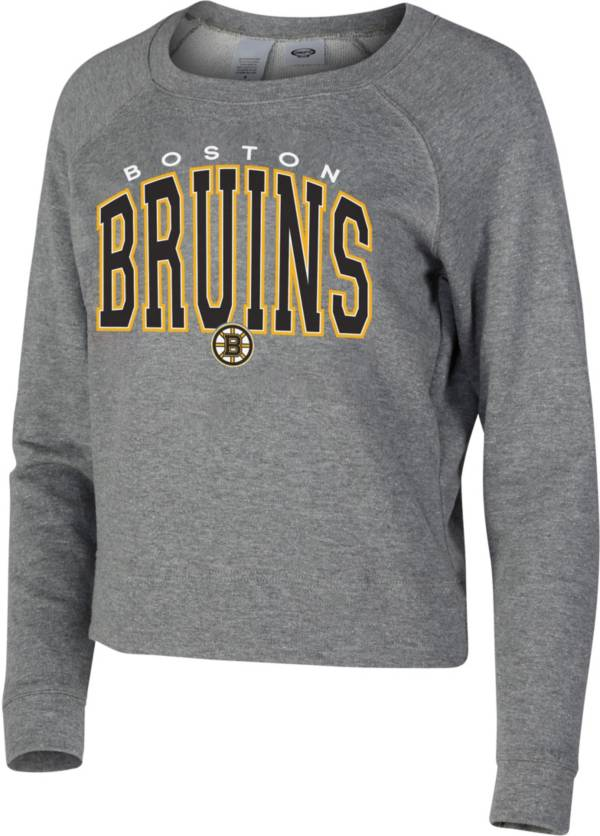 Concepts Sport Women's Boston Bruins Mainstream Grey Sweatshirt product image