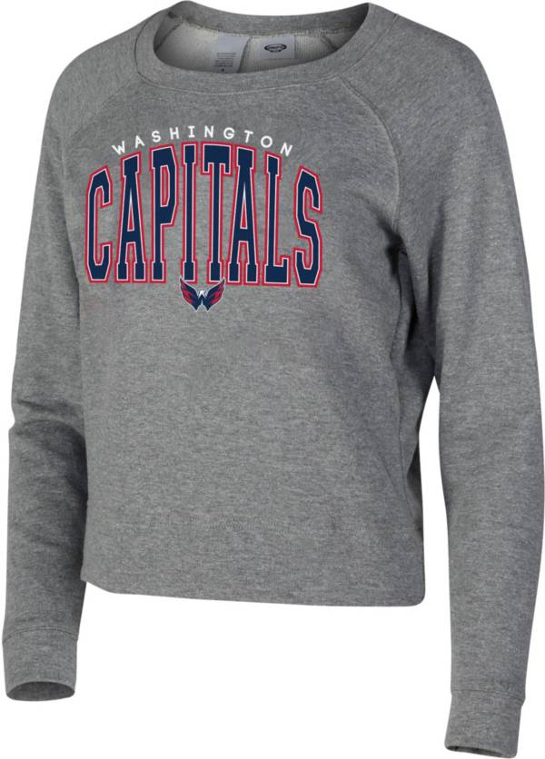 Concepts Sport Women's Washington Capitals Mainstream Grey Sweatshirt product image