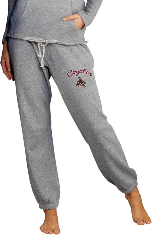 Concepts Sports Women's Arizona Coyotes Grey Mainstream Pants product image