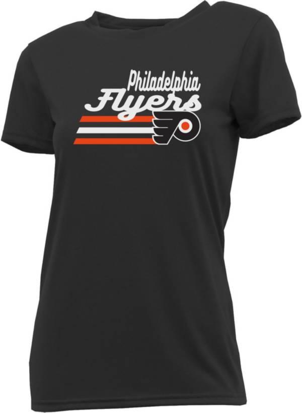 Concepts Sport Women's Philadelphia Flyers Marathon Navy T-Shirt product image