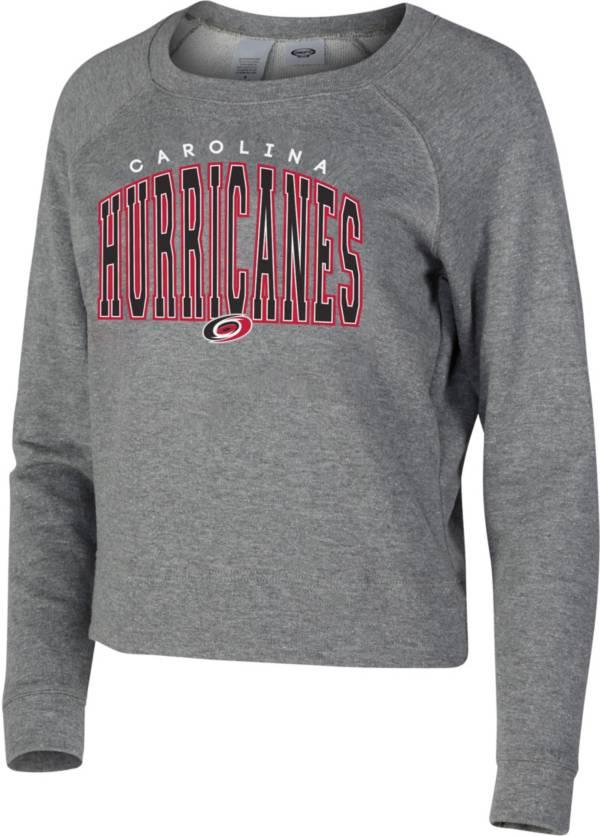 Concepts Sport Women's Carolina Hurricanes Mainstream Grey Sweatshirt product image