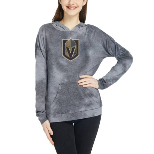 Concepts Sport Women's Las Vegas Golden Knights Empennage Black Pullover Hoodie product image