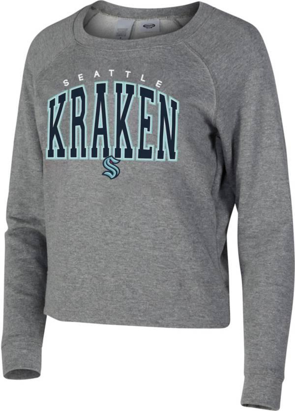 Concepts Sport Women's Seattle Kraken Mainstream Red Sweatshirt product image
