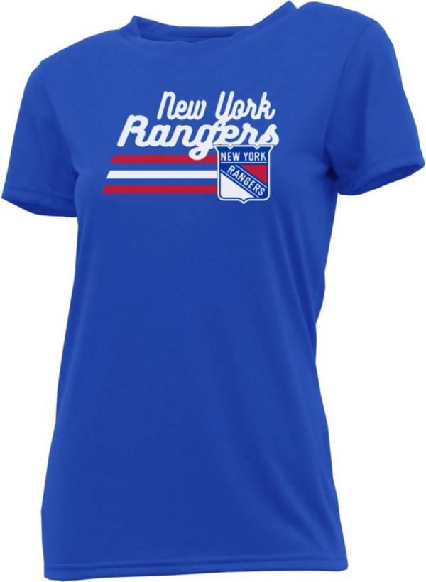 Concepts Sport Women's New York Rangers Marathon Black T-Shirt product image