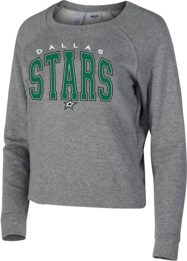 Concepts Sport Women's Dallas Stars Mainstream Grey Sweatshirt product image