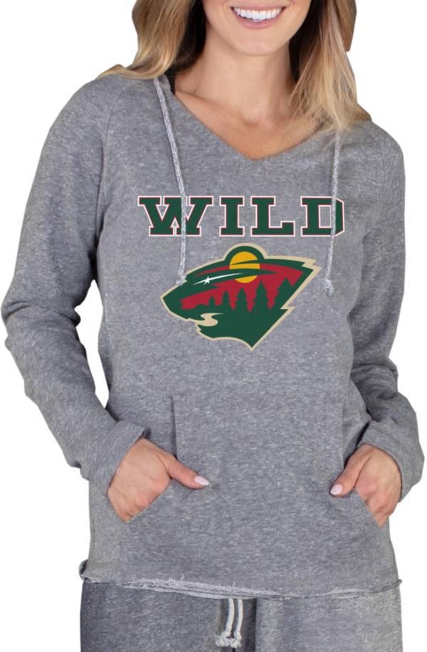 Concepts Sport Women's Minnesota Wild Mainstream Grey Hoodie product image
