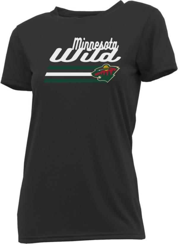 Concepts Sport Women's Minnesota Wild Marathon Grey T-Shirt product image