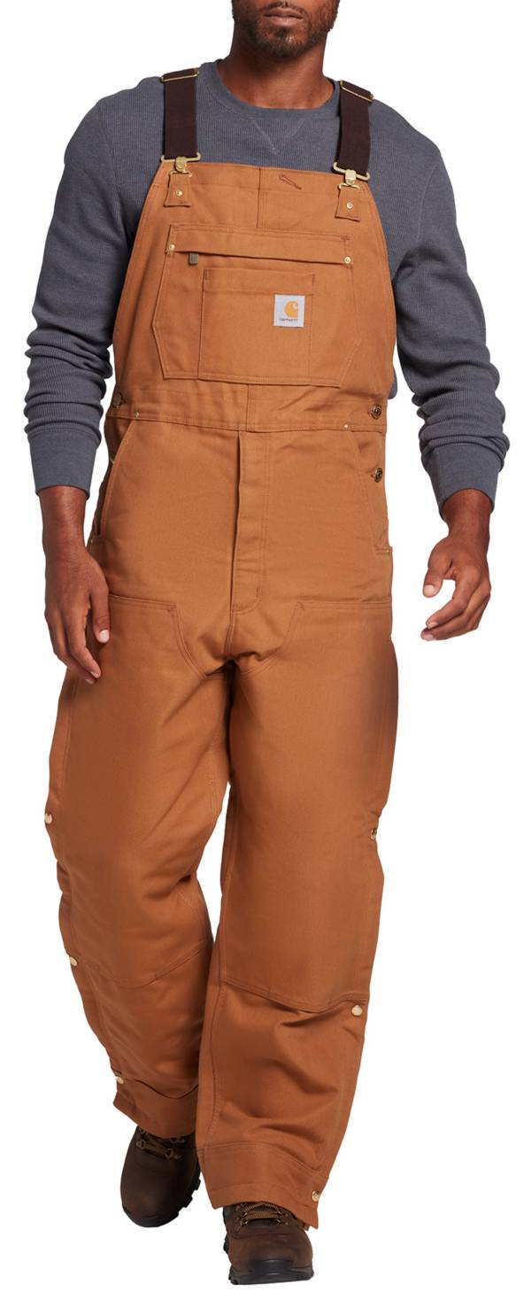Carhartt Men's Loose Fit Firm Duck Insulated Bib Overalls product image