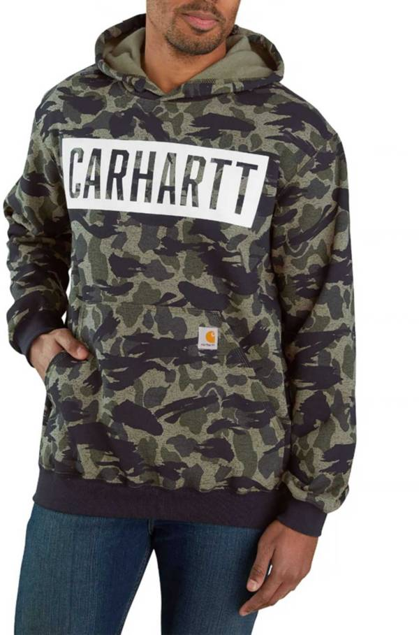 Carhartt Men's Loose Fit Heavyweight Camo Hoodie product image