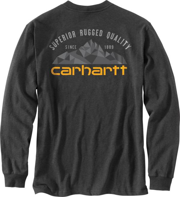 Carhartt Men's Long Sleeve Mountain Graphic T-Shirt product image