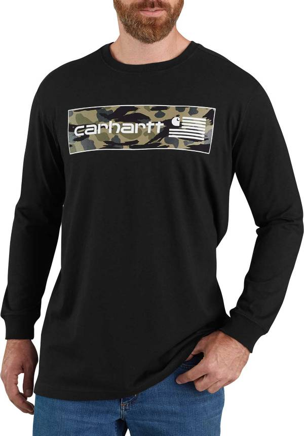 Carhartt Men's Midweight USA Flag Long Sleeve Graphic T-Shirt product image