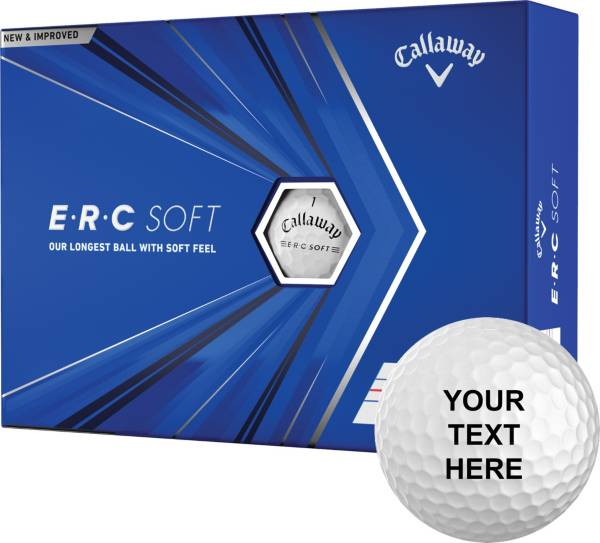 Callaway 2021 ERC Soft Triple Track Personalized Golf Balls product image