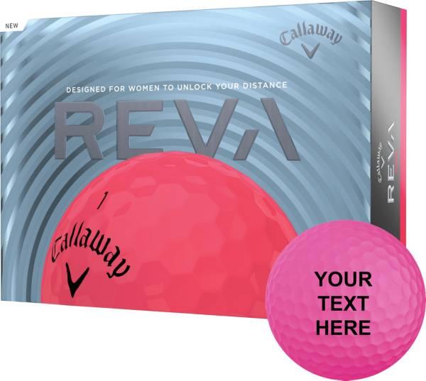 Callaway Women's REVA Pink Personalized Golf Balls product image