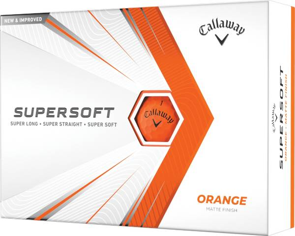 Callaway 2021 Supersoft Matte Orange Golf Balls product image
