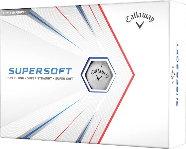Callaway 2021 Supersoft Gloss White Golf Balls product image