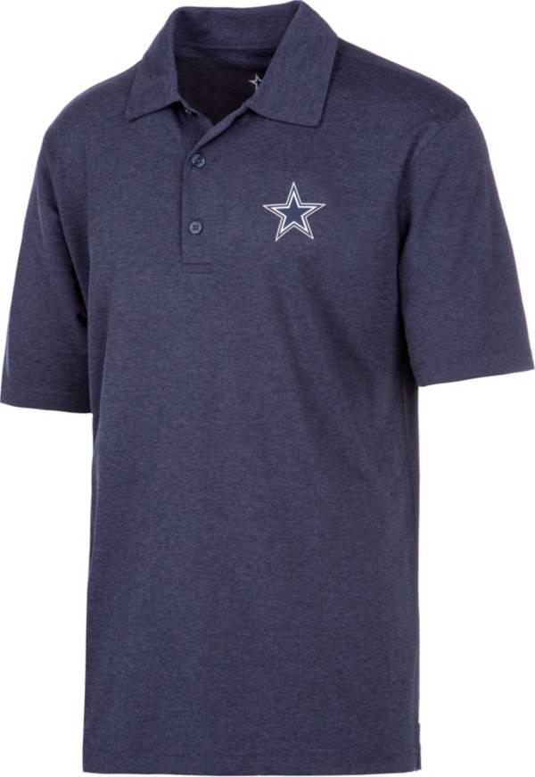 Dallas Cowboys Merchandising Men's Pine Navy Polo product image