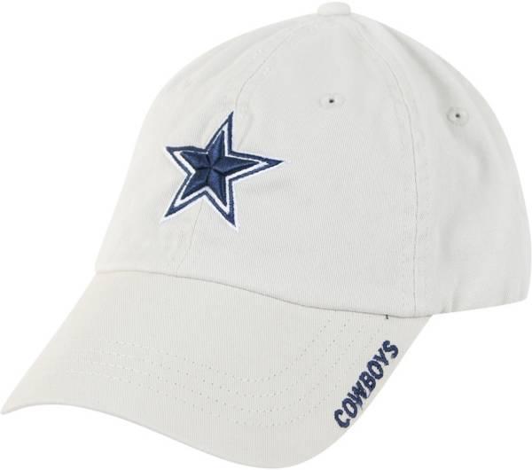 Dallas Cowboys Merchandising White Basic Slouch Adjustable Hat product image