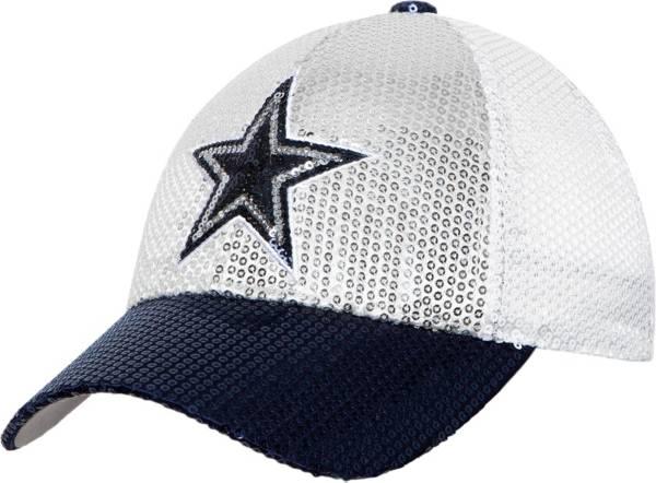 Dallas Cowboys Merchandising Women's Sequins Adjustable Hat product image