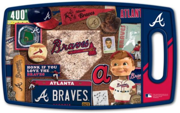 You The Fan Atlanta Braves Retro Cutting Board product image