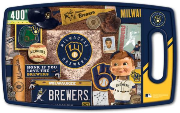 You The Fan Milwaukee Brewers Retro Cutting Board product image