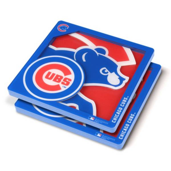 You the Fan Chicago Cubs Logo Series Coaster Set product image