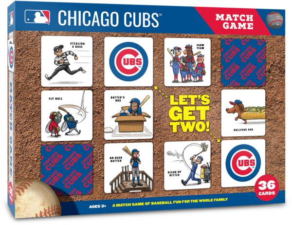 You The Fan Chicago Cubs Memory Match Game product image