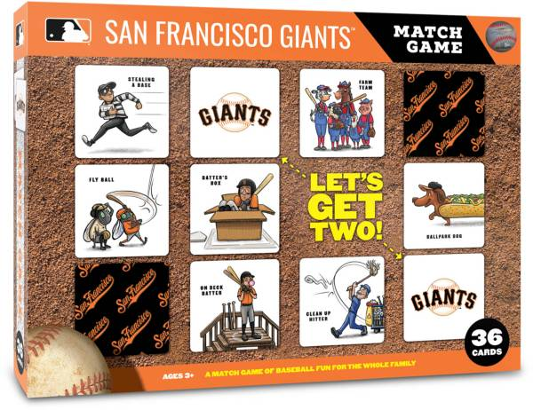 You The Fan San Francisco Giants Memory Match Game product image
