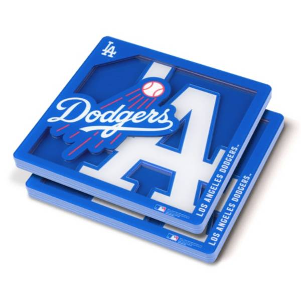 You the Fan Los Angeles Dodgers Logo Series Coaster Set product image
