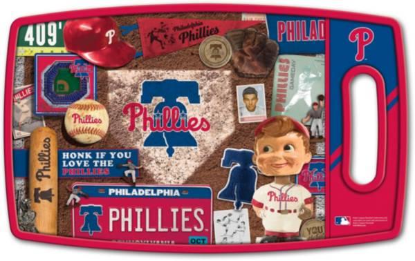 You The Fan Philadelphia Phillies Retro Cutting Board product image