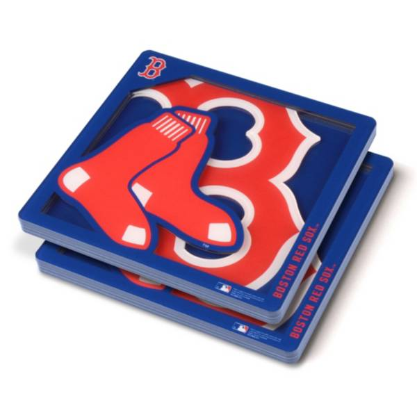 You the Fan Boston Red Sox Logo Series Coaster Set product image