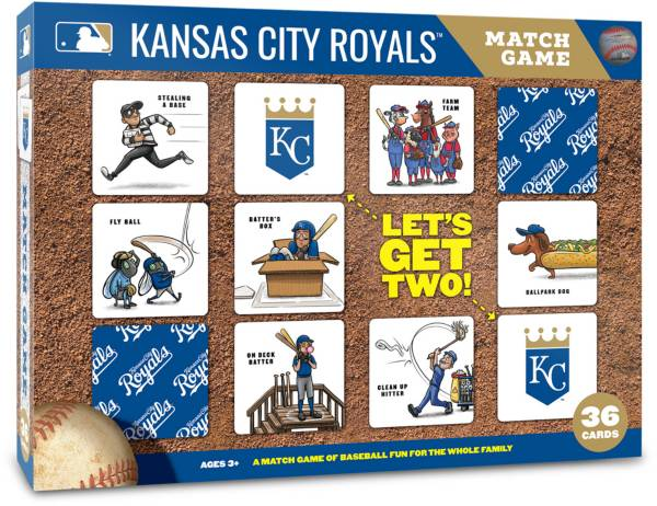 You The Fan Kansas City Royals Memory Match Game product image