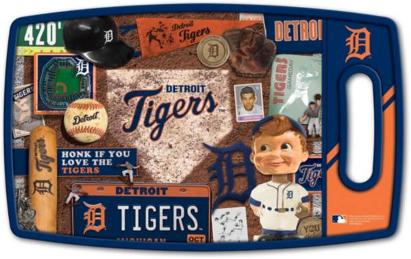 You The Fan Detroit Tigers Retro Cutting Board product image
