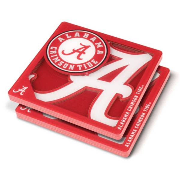 You the Fan Alabama Crimson Tide Logo Series Coaster Set product image