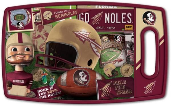 You The Fan Florida State Seminoles Retro Cutting Board product image
