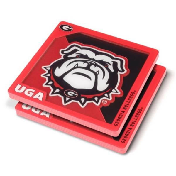 You the Fan Georgia Bulldogs Logo Series Coaster Set product image