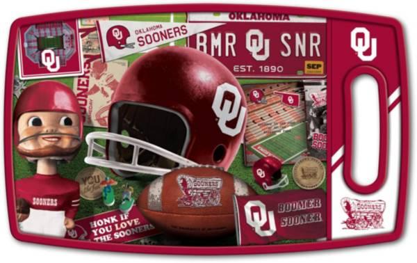 You The Fan Oklahoma Sooners Retro Cutting Board product image