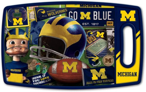 You The Fan Michigan Wolverines Retro Cutting Board product image