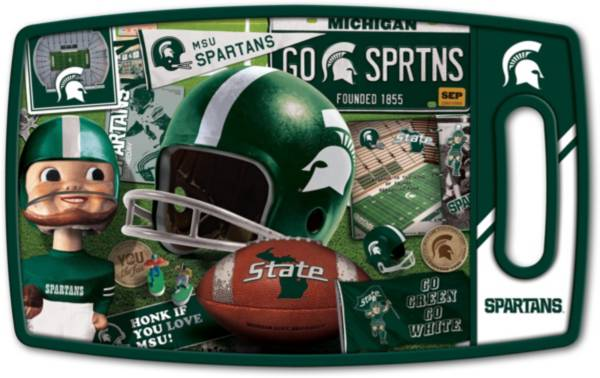 You The Fan Michigan State Spartans Retro Cutting Board product image