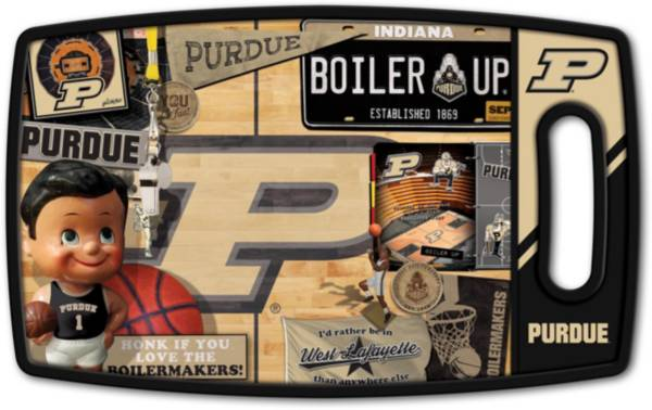 You The Fan Purdue Boilermakers Retro Cutting Board product image