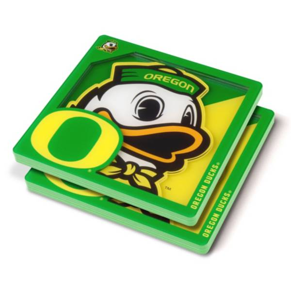 You the Fan Oregon Ducks Logo Series Coaster Set product image