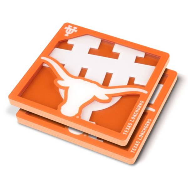 You the Fan Texas Longhorns Logo Series Coaster Set product image
