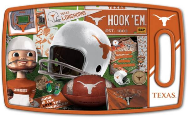 You The Fan Texas Longhorns Retro Cutting Board product image