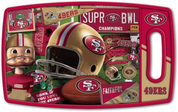 You The Fan San Francisco 49ers Retro Cutting Board product image