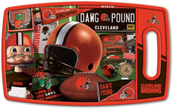 You The Fan Cleveland Browns Retro Cutting Board product image