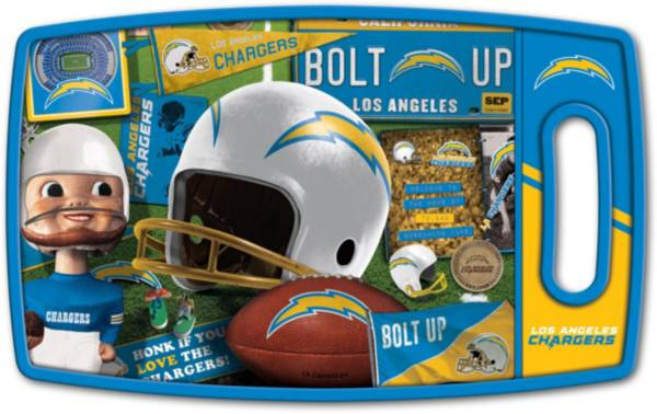 You The Fan Los Angeles Chargers Retro Cutting Board product image