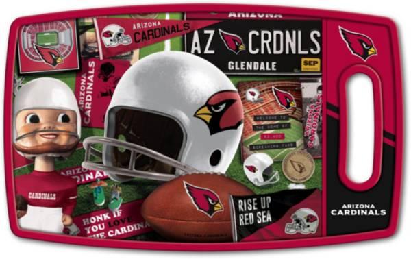 You The Fan Arizona Cardinals Retro Cutting Board product image