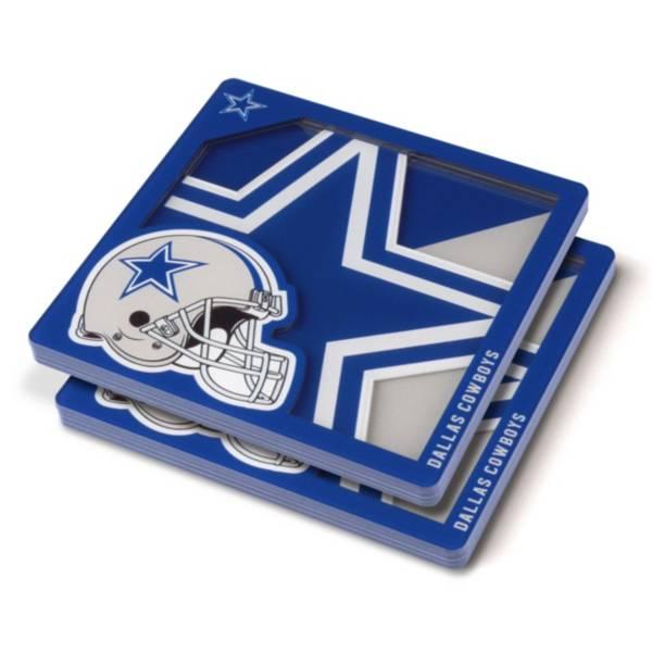 You the Fan Dallas Cowboys Logo Series Coaster Set product image